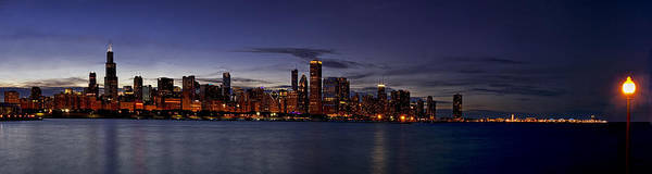 Chicago Skyline Art Photograph - Chicago Skyline From The Lake by Andrew Soundarajan
