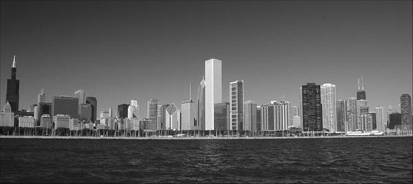 Photograph - Chicago's Skyline And Waterfront by Ginger Wakem