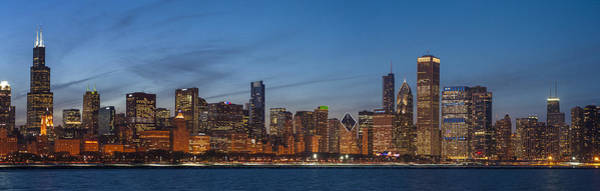 Wall Art - Photograph - Chicago Skyline March 2013 by Donald Schwartz