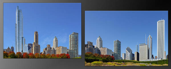 Wall Art - Photograph - Chicago Skyline Of Superstructures by Christine Till