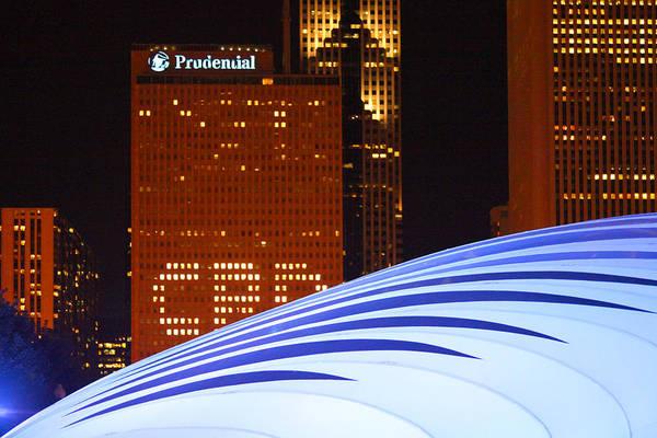 Chicago Skyline Orb Art Print