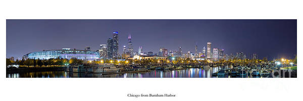 Two Harbors Photograph - Chicago Skyline by Twenty Two North Photography