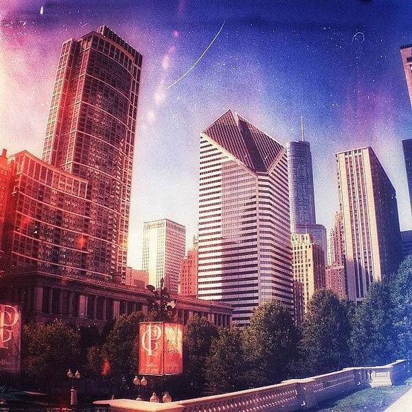 Abstract Skyline Wall Art - Photograph - Chicago Skyscrapers 🏢 by Alex Baker