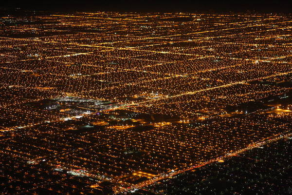 Photograph - Chicago Suburbs At Night by Nathan Rupert