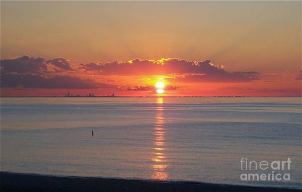 Photograph - Chicago Solstice by Pamela Clements