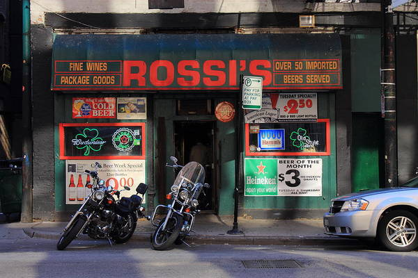 Photograph - Chicago Storefront 1 by Frank Romeo