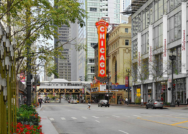 Wall Art - Photograph - Chicago Theatre - French Baroque Out Of A Movie by Christine Till