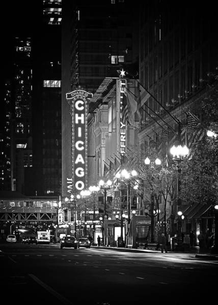 Wall Art - Photograph - Chicago Theatre - Grandeur And Elegance by Christine Till