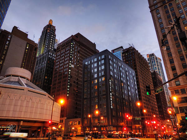 Photograph - Chicago - Wabash And Wacker 001 by Lance Vaughn