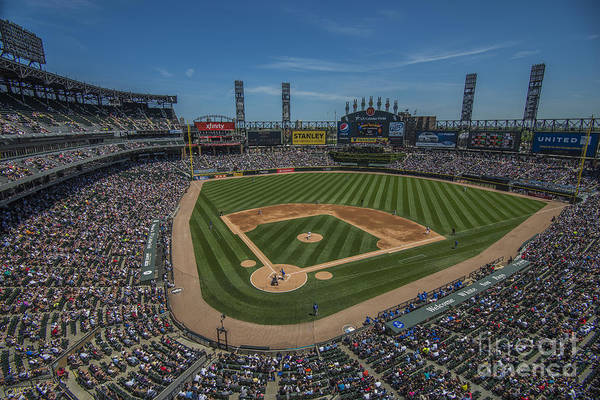 Photograph - Chicago White Sox 8693 by David Haskett II