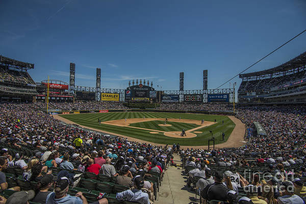 Photograph - Chicago White Sox Low by David Haskett II