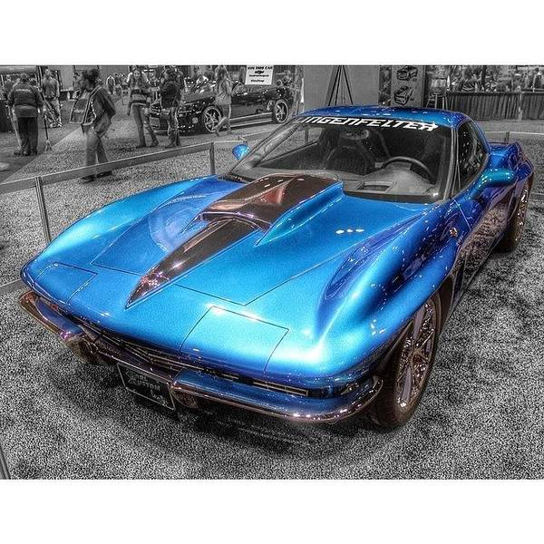 Chevrolet Corvette Photograph - #chicagoautoshow #chicagoautoshow2014 by James Roach