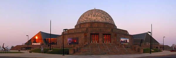 Photograph - Chicago's Adler Planetarium by Adam Romanowicz