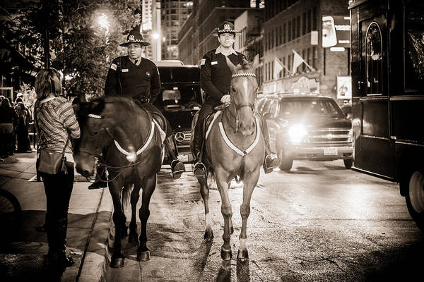 Photograph - Chicago's Finest by Melinda Ledsome