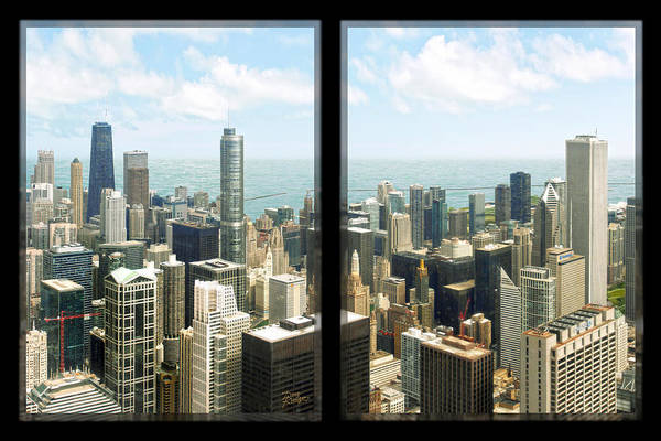 Chicago Tribune Wall Art - Photograph - Chicago's Tallest by Doug Kreuger