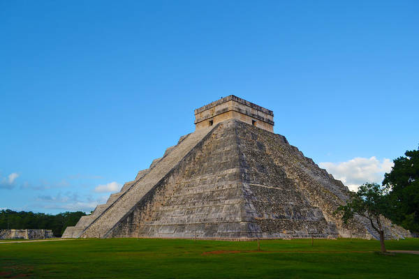Kukulcan Photograph - Chichen Itza Pyramid by Carlos Velasco