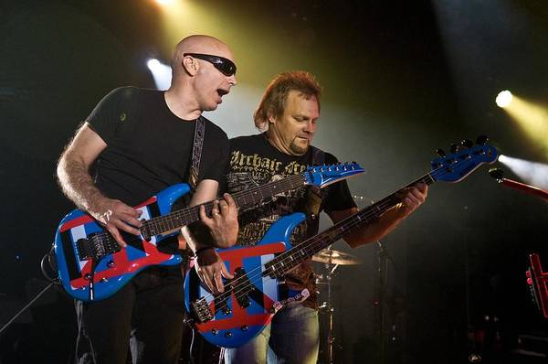 Auditorium Photograph - Chickenfoot Live by Larry Hulst