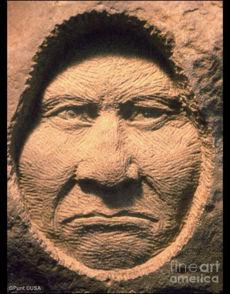Sculpture - Chief-geronimo by Gordon Punt