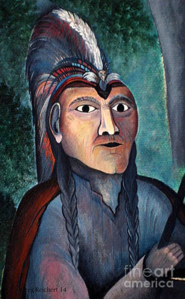 Painting - Chief by Greg Reichert Estate