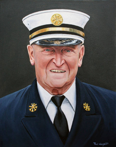 Wall Art - Painting - Chief Haber by Paul Walsh