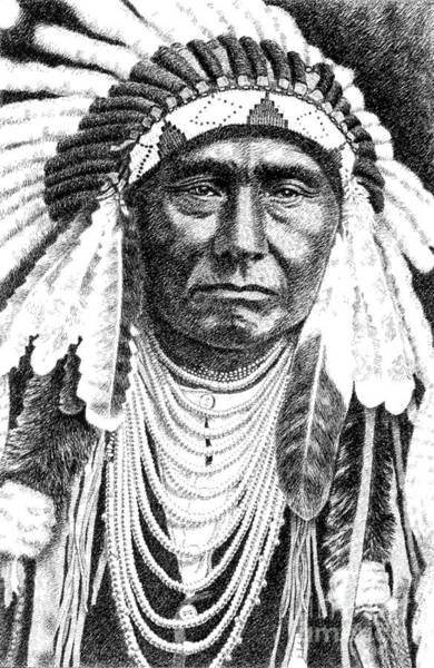 Chief-joseph Art Print