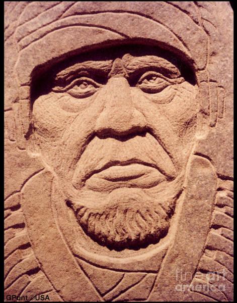 Sculpture - Chief-keokuk by Gordon Punt
