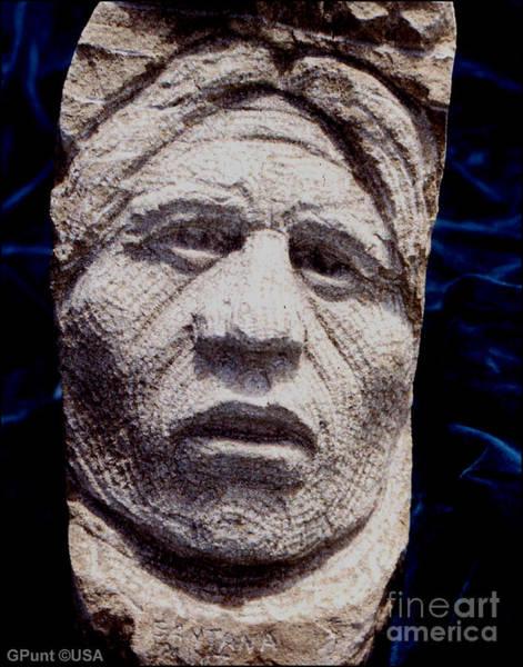 Sculpture - Chief-santana by Gordon Punt