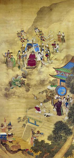 Wall Art - Painting - Ch'ien Lung & Ambassadors by Granger