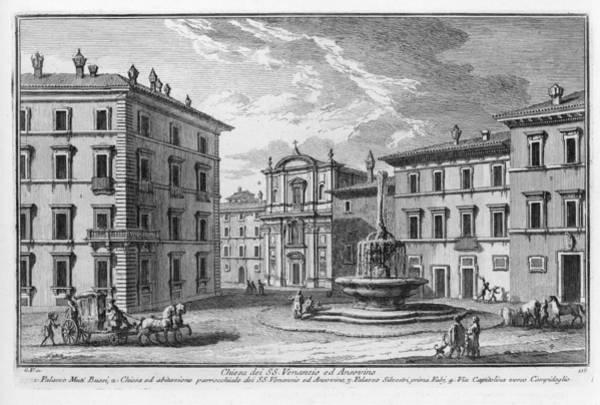 Digital Art - Chiesa Dei S. S.venanzio Ed Ansovino by Giuseppe Vasi