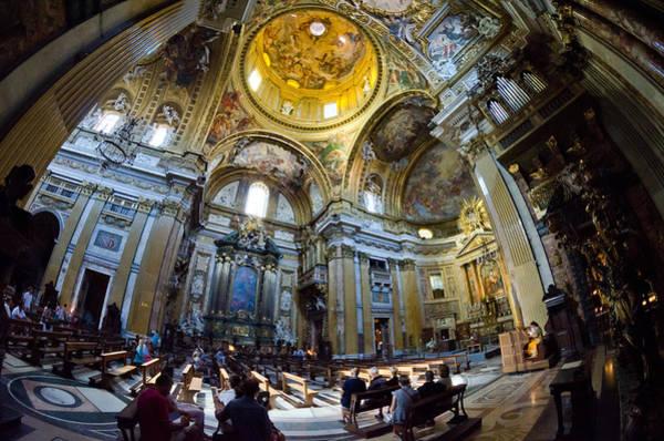 Photograph - Chiesa Del Gesu II by Pablo Lopez