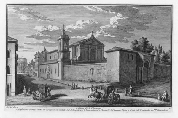 Digital Art - Chiesa Di S. Clemente by Giuseppe Vasi
