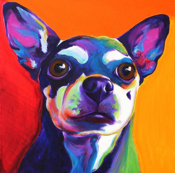 Wall Art - Painting - Chihuahua - Dolce by Alicia VanNoy Call