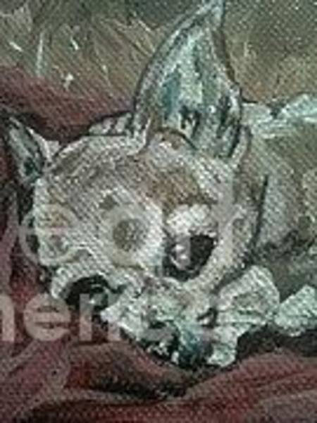 Wall Art - Painting - Chihuahua by Tanya Arcuri-Gout