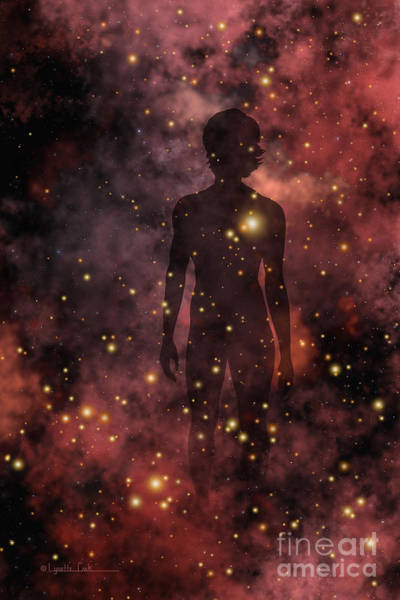 Star Formation Painting - Child Of The Cosmos by Lynette Cook