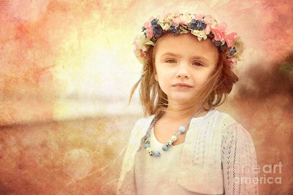 Little Person Wall Art - Photograph - Childhood Dreams by Cindy Singleton