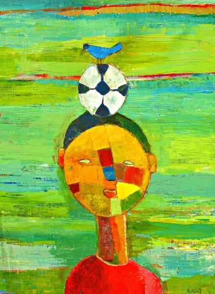 Similar Painting - Childhood Memories by Habib Ayat