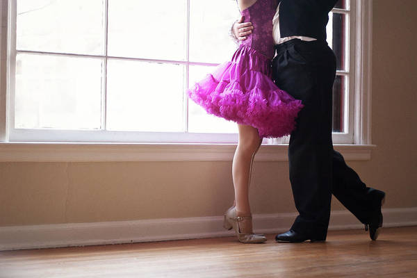 Casual Photograph - Children Performing Ballroom Dancing by Krista Long