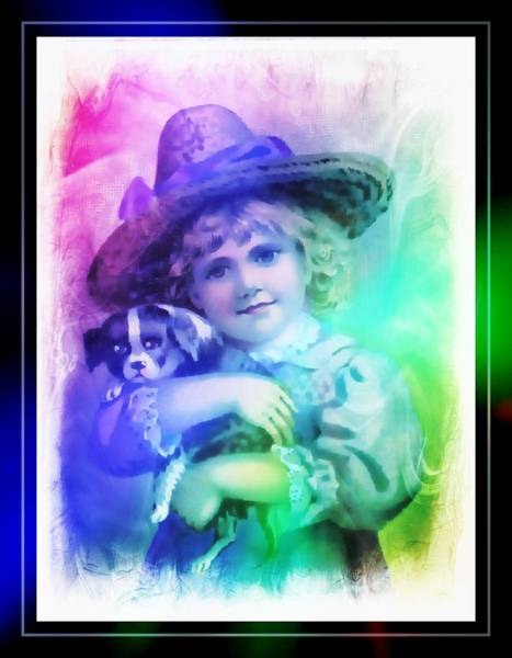 Digital Art - Childs Best Friend by Ericamaxine Price
