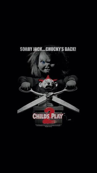 Chucky Wall Art - Digital Art - Child's Play 2 - Jack Poster by Brand A