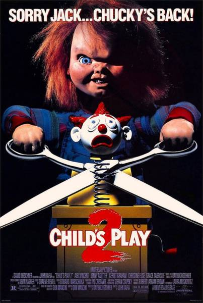Chucky Wall Art - Photograph - Childs Play 2  by Movie Poster Prints