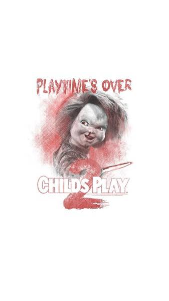Chucky Wall Art - Digital Art - Childs Play 2 - Playtimes Over by Brand A