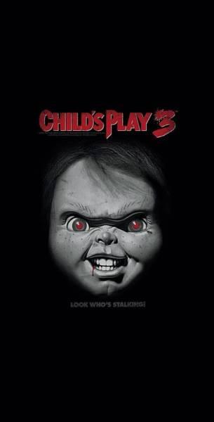 Chucky Wall Art - Digital Art - Child's Play 3 - Face Poster by Brand A