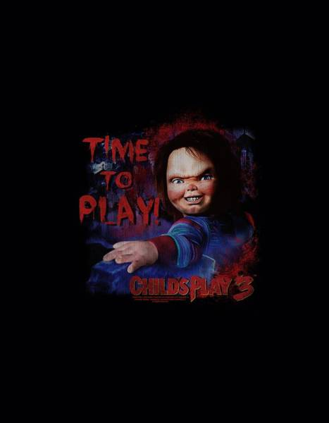 Chucky Wall Art - Digital Art - Childs Play 3 - Time To Play by Brand A