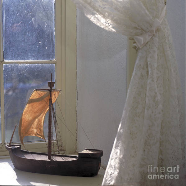 Photograph - Child's Sailboat by Kathleen Gauthier