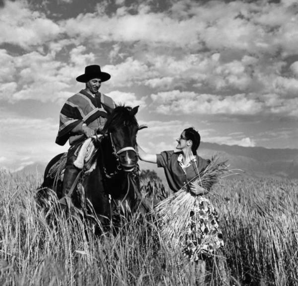 Wall Art - Photograph - Chile Gaucho, 1940 by Granger