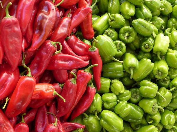 Salad Dressing Photograph - Chillies by FL collection