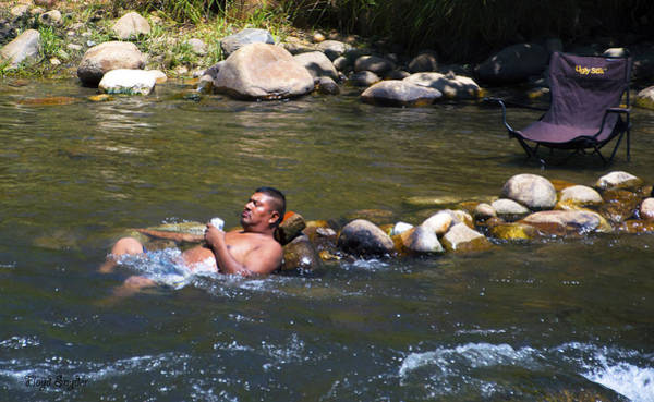 Photograph - Chillin In The River by Floyd Snyder
