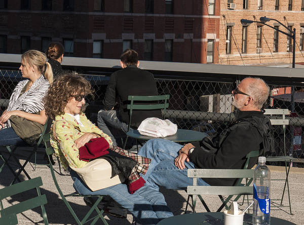 Photograph - Chillin On The Highline by Frank Winters