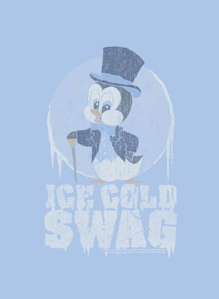 Shows Digital Art - Chilly Willy - Ice Cold by Brand A