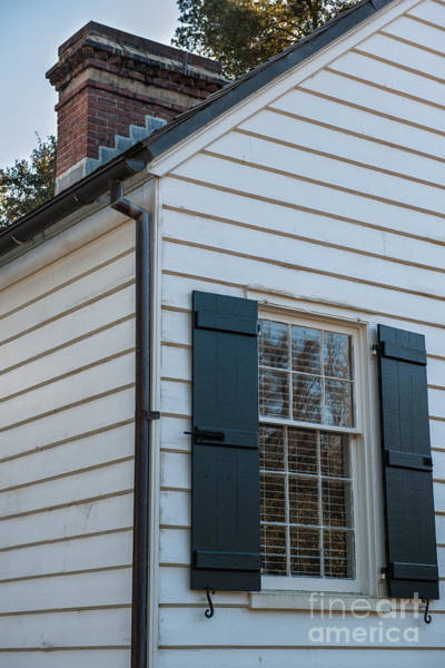 Photograph - Chimney And Shutters by Dale Powell